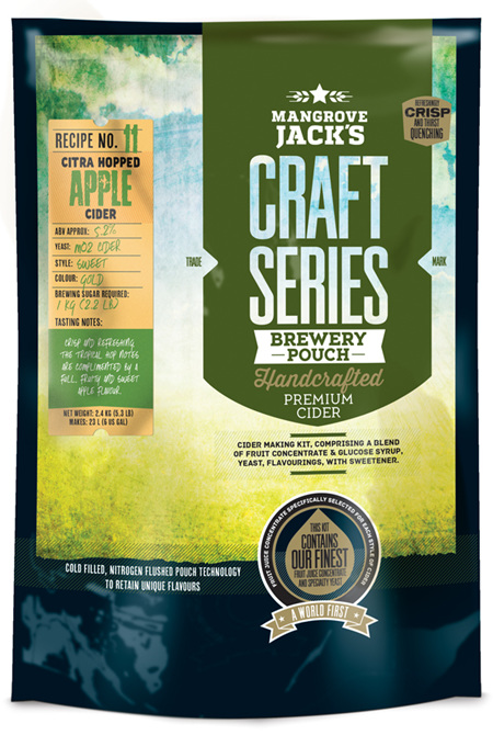 Craft Series Citra Hopped Apple Cider Pouch