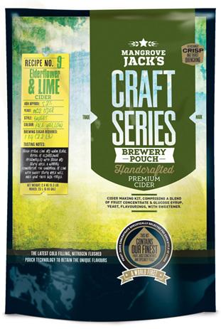Craft Series Elderflower & Lime Cider