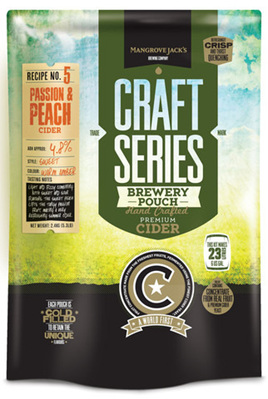 Craft Series Peach & Passionfruit Cider