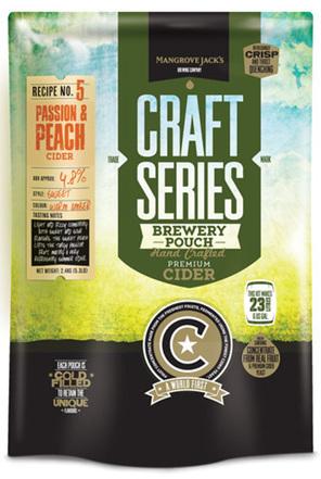 Craft Series Peach & Passionfruit Cider