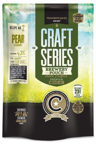 Craft Series Pear Cider Pouch