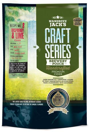 Craft Series Raspberry & Lime Cider