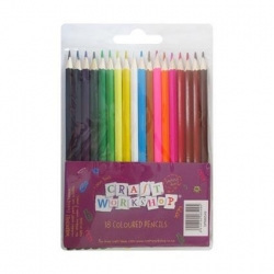 Craft Workshop coloured pencils PLU 6827