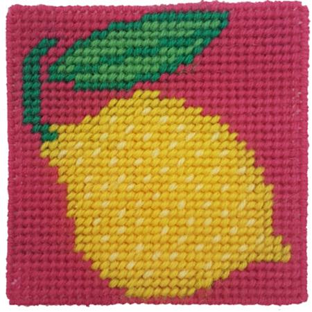 Crafty Dog Fruit Loop Tapestry Lemon