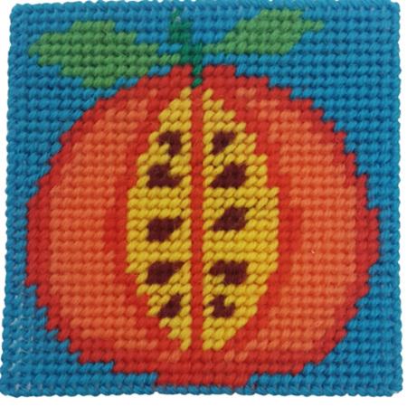 Crafty Dog Fruit Loop Tapestry Persimmon
