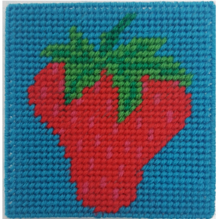 Crafty Dog Fruit Loop Tapestry Strawberry