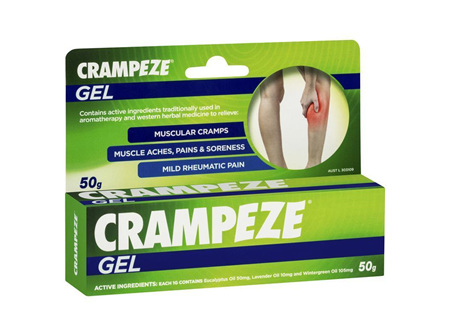 CRAMPEZE GEL TUBE 50GM