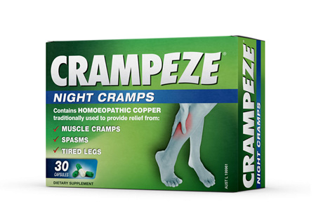 Crampeze Night Cramps - 30 capsules