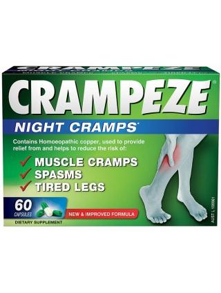 Crampeze Night Cramps Capsules 60