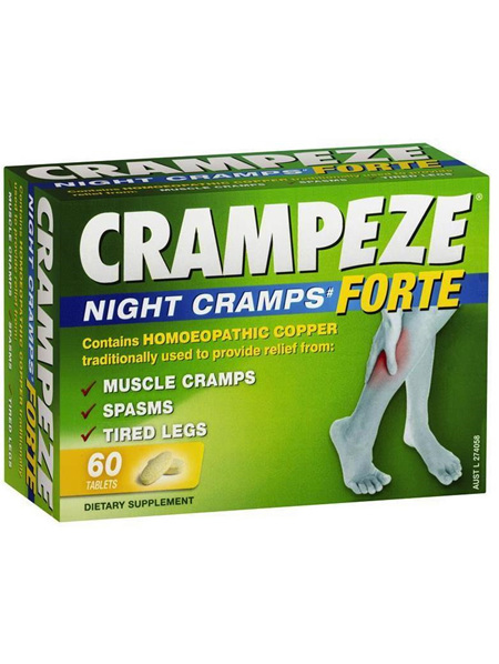 CRAMPEZE NIGHT CRAMPS FORTE 60 Pack