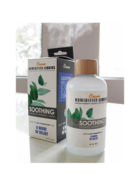 Crane Humidifer Liquids Soothing -Eucalyptus/Peppermint/Lemon - 235ml