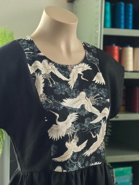 Cranes Ume dress