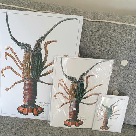 Crayfish A4 Print