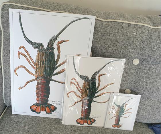 Crayfish Greeting Card