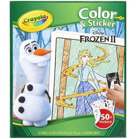 Crayola color & sticker books - choose 1