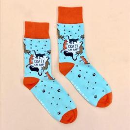 Crazy Cat Lady Socks