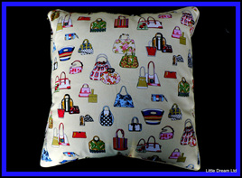 """Crazy Handbag Cushion"""