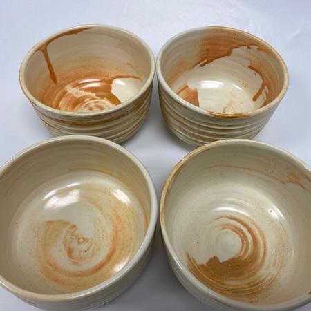 Cream Bowl - 7.5cm high x 12cm wide
