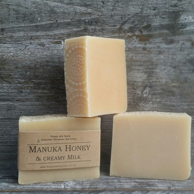 Creamy Milk & Honey Soap