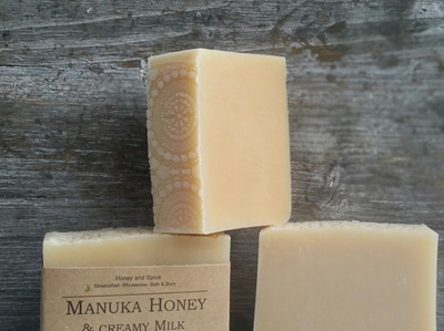 Creamy Milk & Honey Soap