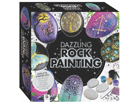 Create Your Own Dazzling Rock Painting Box Set