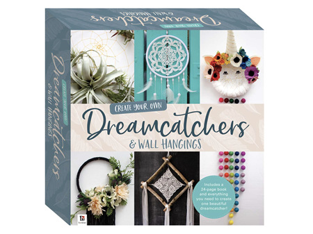 Create Your Own - Dreamcatchers and Wall Hangings Box Kit