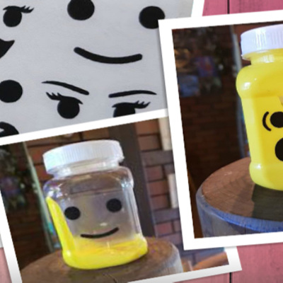 CREATE YOUR OWN LEGO JAR #LEGOPOWER
