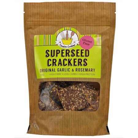 Creative Cooking Superseed Crackers