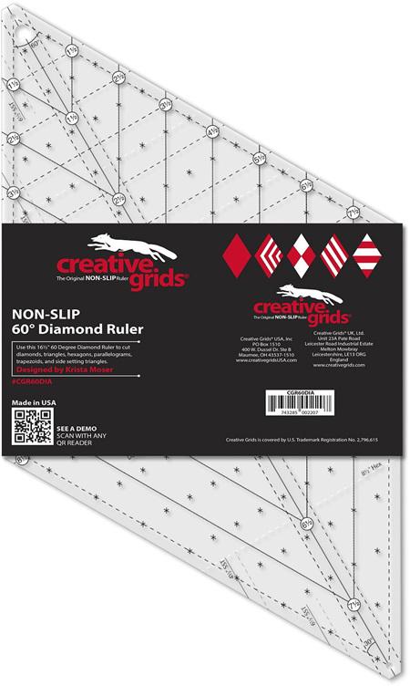 Creative Grids Non Slip 60° Ruler