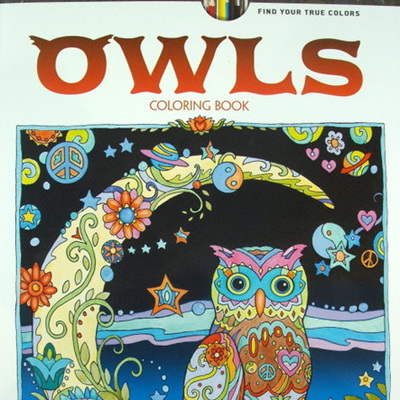 Creative Haven Adult Colouring Book - Owls