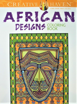 Creative Haven Colouring Book - African Designs