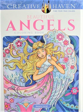 Creative Haven Colouring Book -  Angels