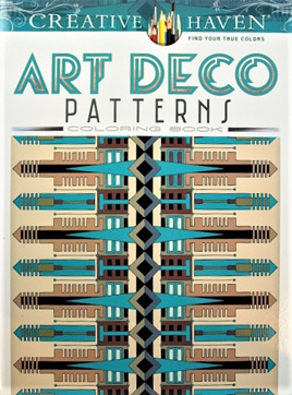 Creative Haven Colouring Book - Art Deco Patterns