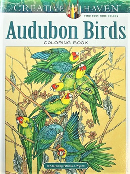 Creative Haven Colouring Book - Audubon Birds