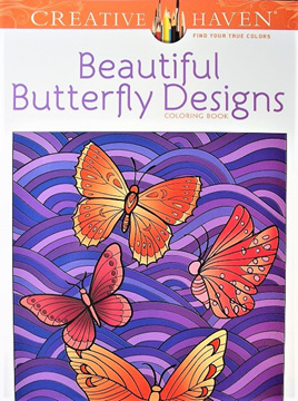 Creative Haven Colouring Book - Beautiful Butterfly Designs