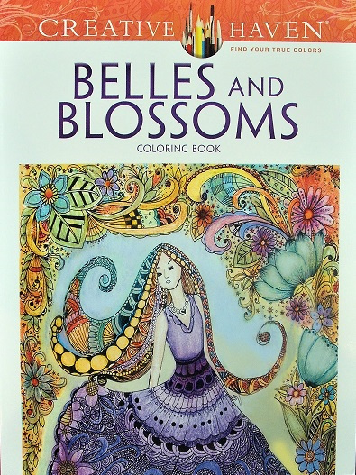 Creative Haven Colouring Book - Belles & Blossoms