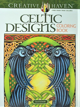 Creative Haven Colouring Book - Celtic Designs