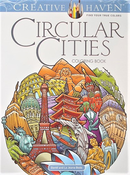 Creative Haven Colouring Book - Circular Cities