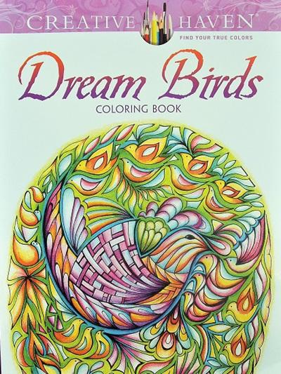 Creative Haven Colouring Book - Dream Birds