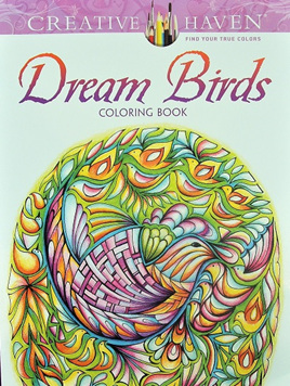 Creative Haven Colouring Book - Dream Birds