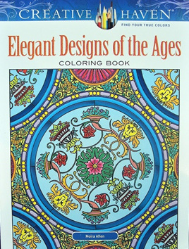 Creative Haven Colouring Book - Elegant Designs of the Ages