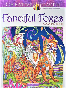 Creative Haven Colouring Book - Fanciful Foxes