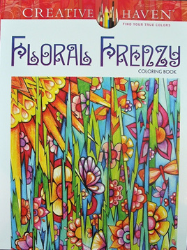 Creative Haven Colouring Book - Floral Frenzy