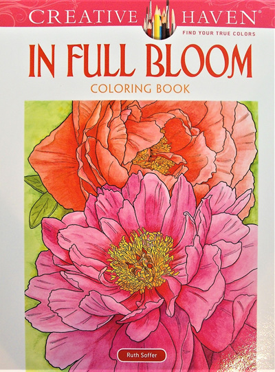 Creative Haven Colouring Book - In Full Bloom