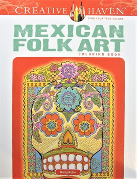 Creative Haven Colouring Book - Mexican Folk Art