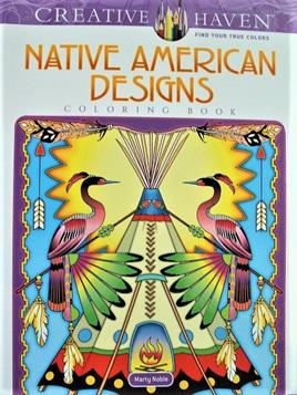 Creative Haven Colouring Book - Native American Designs