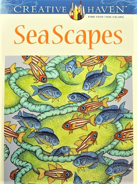 Creative Haven Colouring Book - Seascapes