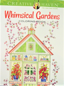 Creative Haven Colouring Book - Whimsical Gardens