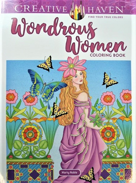 Creative Haven Colouring Book - Wondrous Women