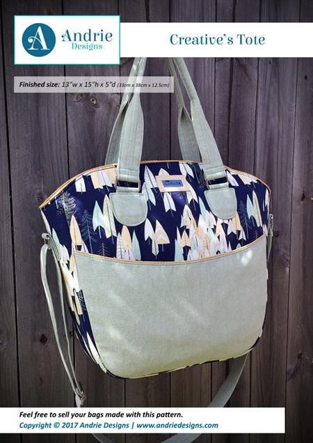 Creative's Tote Bag Pattern